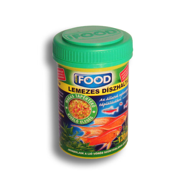 Aqua-Food 120ml Lemezestáp