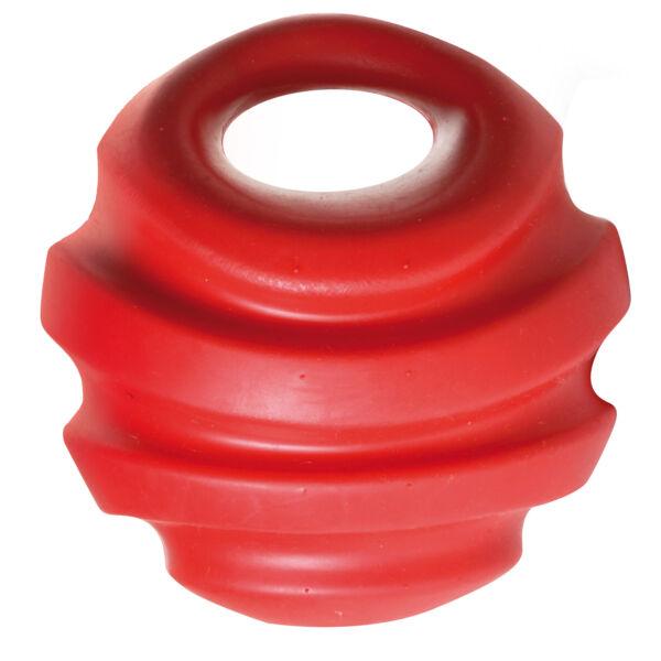 RECORD PLAYER ONE kutyajáték, erős, de könnyű sípoló labda 12cm