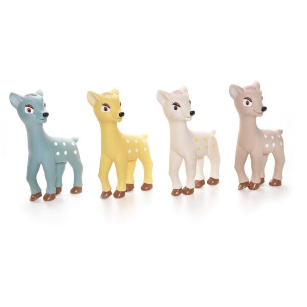 RECORD Bambi kutyajáték, latex őzike 9x4x15cm