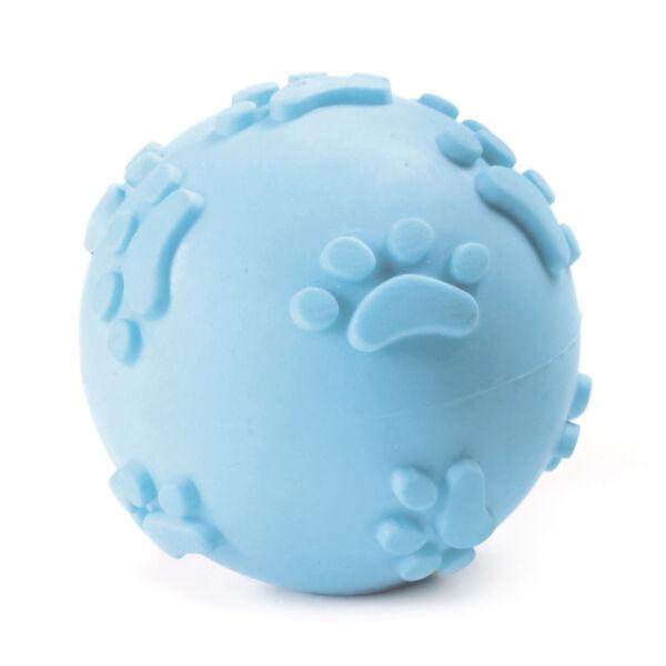 RECORD Primi Morsi kutyajáték TPR gumi labda kék 6cm