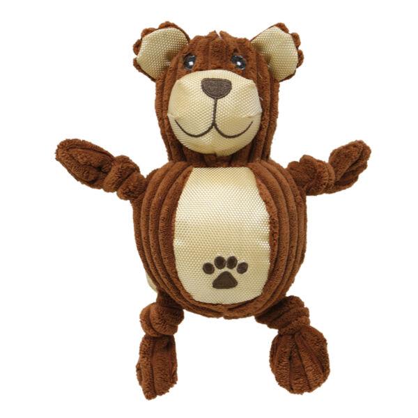 RECORD PUFFY kutyajáték szövet medve 23x10cm