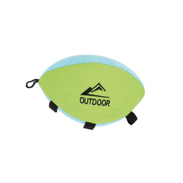 RECORD kutyajáték vízen úszó rögbilabda 11x11x18cm