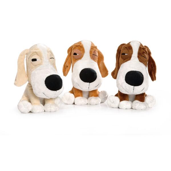 RECORD LAZY DOG kutyajáték plüss kutya különféle színekben, 20cm