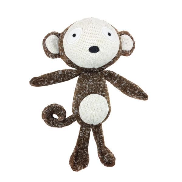 RECORD SOFTY kutyajáték puha pamut majom 19cm