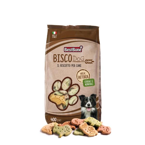 BISCODog Kutyakeksz Zöldséges Mix 400g