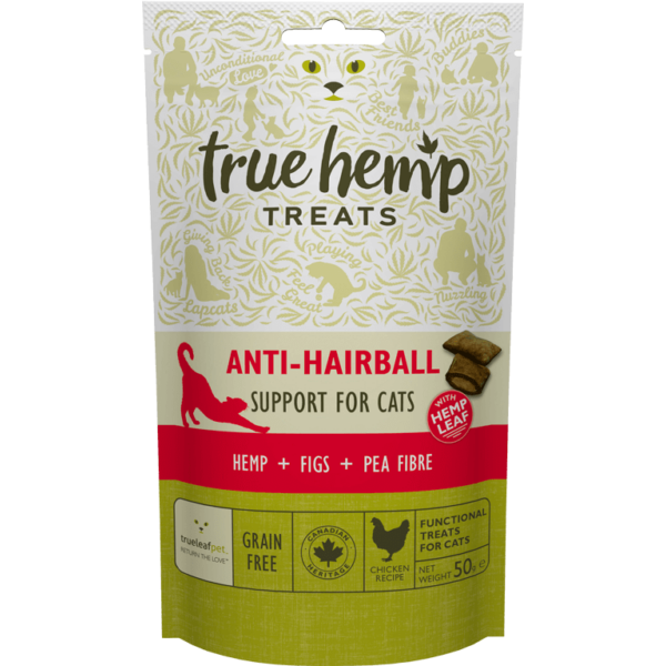 True Hemp Cat Anti Hairball 50g