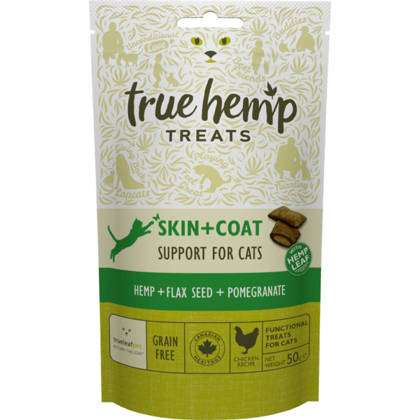 True Hemp Cat Skin + Coat 50g 4+4 db akció
