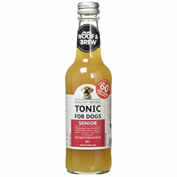 W&B Senior Gyógynövényes Tonik 330 ml