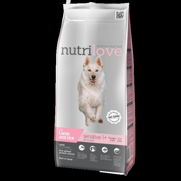 Nutrilove Monoprotein bárány 3 kg Adult