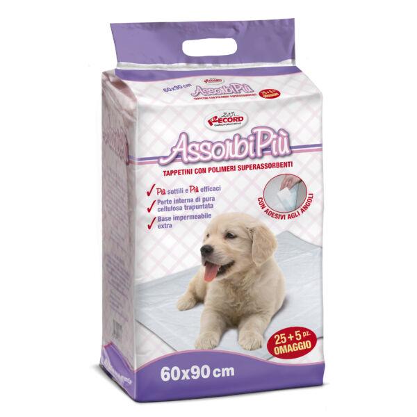 "AssorbiPiu kutyapelenka ""L"" 60x90 cm 30 db/cs"