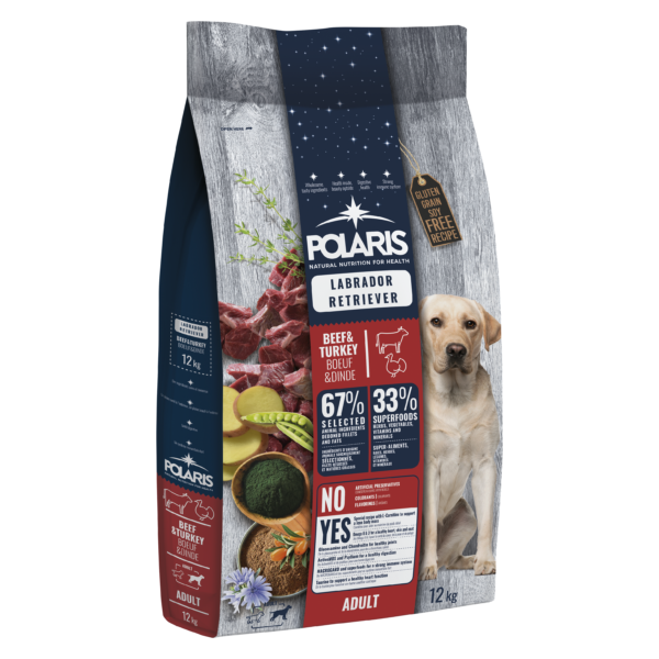 POLARIS 12 kg Labrador marha-pulyka  (2 db)