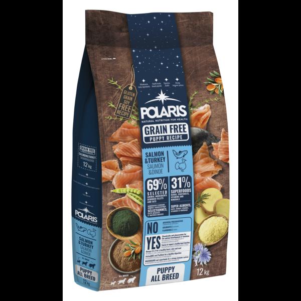 POLARIS 12 kg Junior lazac-pulyka