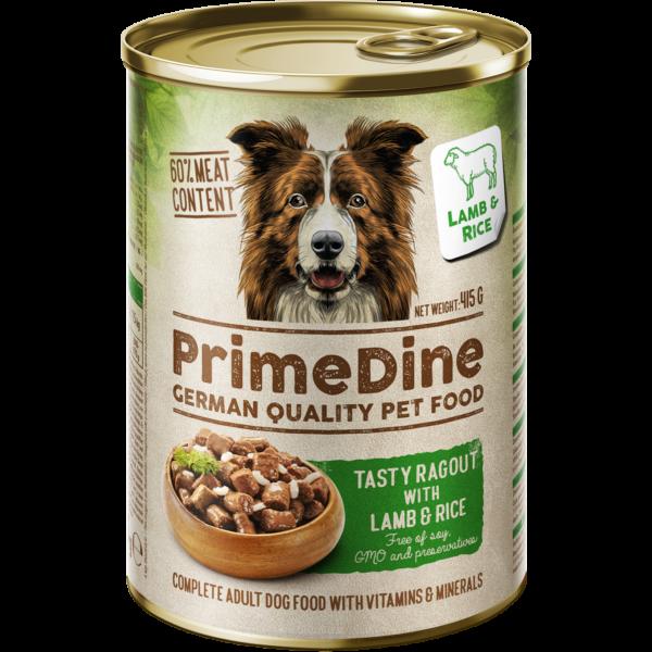 Primedine konzerv bárány-rizs 415g