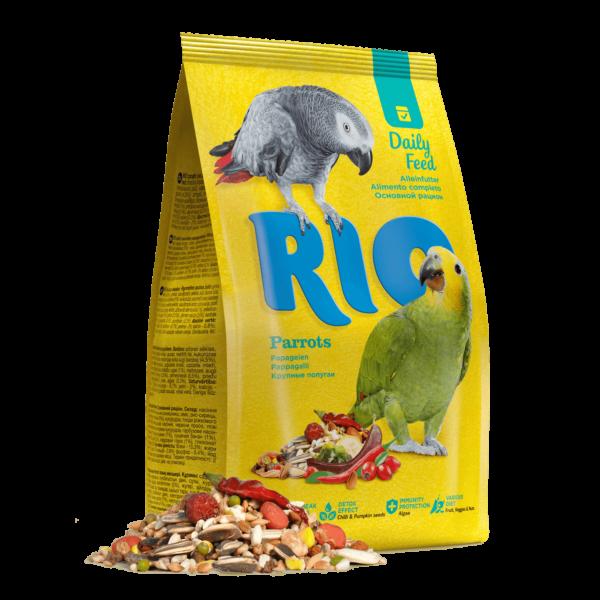 RIO Madáreleség Óriáss Papagájoknak 500 g