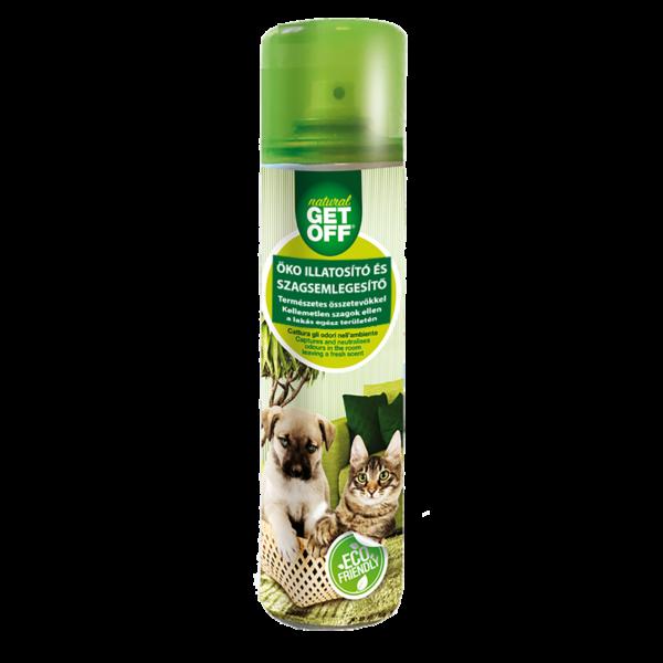 GET OFF Természetes illatosító és szagsemlegesítő spray 500 ml - kutyaházakhoz, textíliákhoz