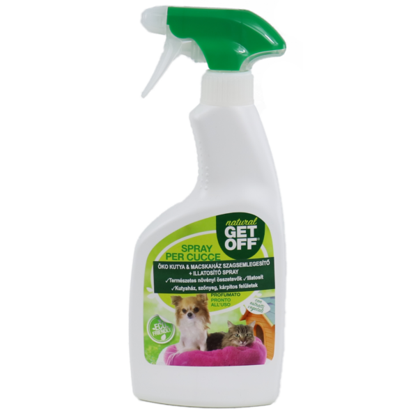 GET OFF Macska- és kutyariasztó spray 500 ml