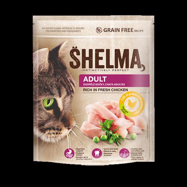 Shelma 750 g adult csirke