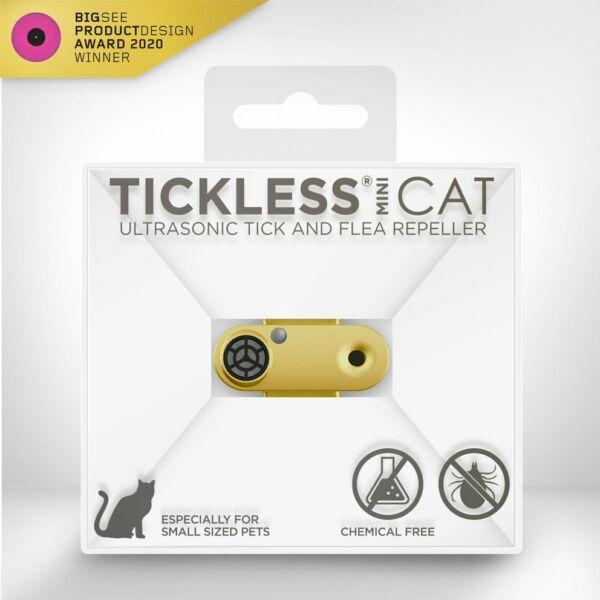 TICKLESS MINI CAT Arany ultrahangos kullancsriasztó