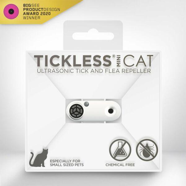 TICKLESS MINI CAT - White