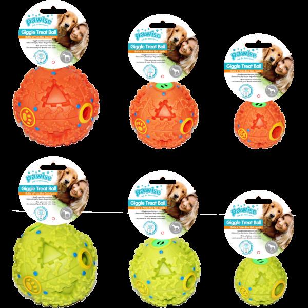 Pawise kutyajáték jutalomfalat adagoló labda 9 cm
