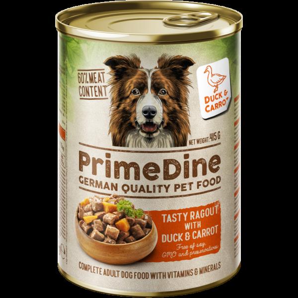 Primedine kacsa-répa 415 g kutya konzerv