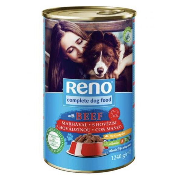 Reno marha 1240 g kutya konzerv